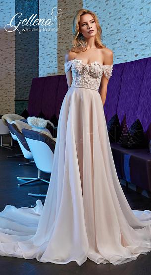 Свадебные платья цвета пудры  купить в Киеве - салон Вельон e82e667a4b0